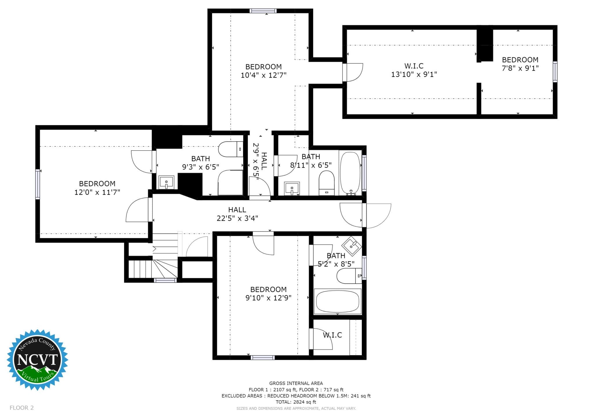 Floor plans nevada county virtual tours for Floor plan virtual tour